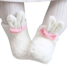 Cute Cotton Cartoon Stocks Baby Boy Girl Thickening Anti Slip Ankle Socks 0-2Y