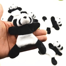 1pc Lovely Panda Fridge Magnet Refrigerator Magnet Stickers Plush Children Birthday Gift Christmas Gifts