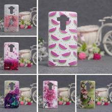 For LG G4 Case Luxury 3D Painting Back TPU Cover for LG G4 H810 H815 F500 F500K F500L Cases Silicon Mobile Phone Protector Bag(China)