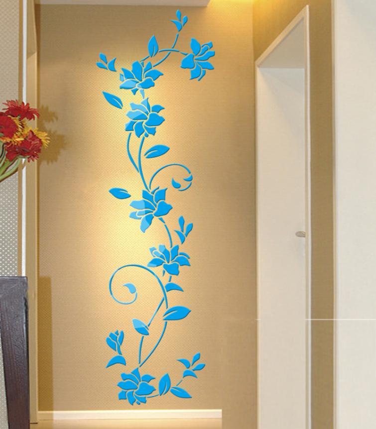 HTB1RYi9QVXXXXa2XXXXq6xXFXXXx - 3D Acrylic Crystal Mirrored Decorative Wall Decal For Living Room