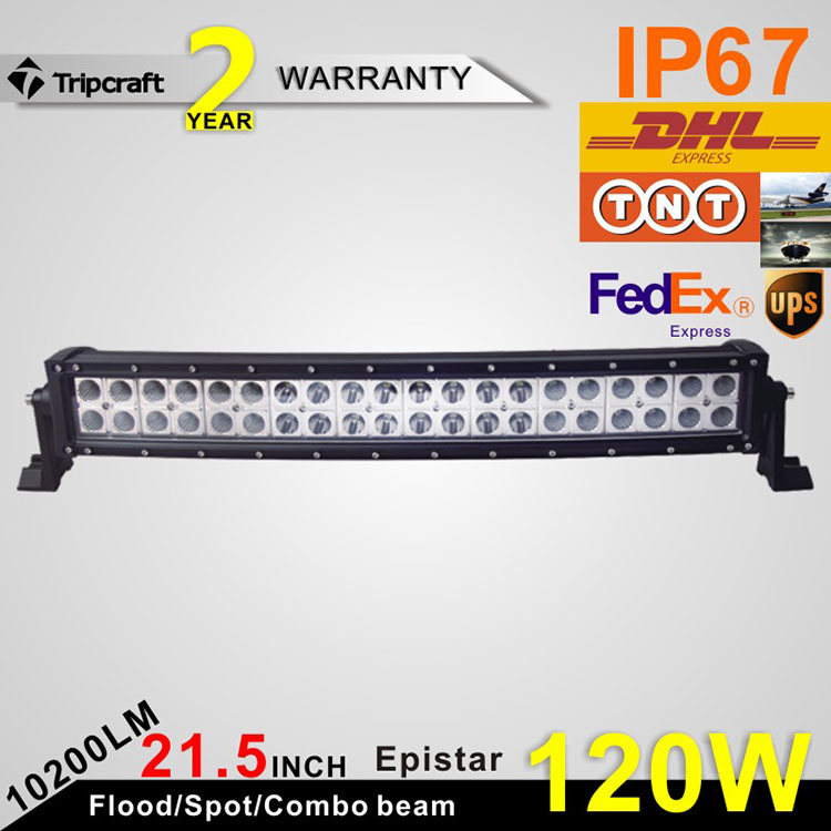 120w curved offroad light LED light bar car led spot flood combo beam 12v 24v led auto headlight<br><br>Aliexpress