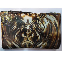 World of Warcraft Pencil Purse Wallet Leather Pen Bags Games War Craft Stationery Zipper Bag Gift Boy carteira Men Wallets