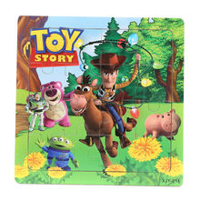 3D Wooden paper Jigsaw Puzzles Toys for Children Toy story Puzzles Kids Toys Baby Toys Educational toys Puzzels Christmas gifts