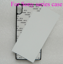 For Sony Xperia Z Z1 Z2 Z3 Z4 Z5 mini premium M2 M4 M5 C3 C4 C5 E4 E5 T2 T3 XA blank Sublimation heat press print case 5pcs lot(China)
