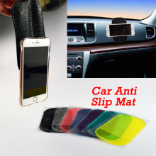 Car Anti Slip Mat Non-slip Sticky For Mobile Phone/mp3/mp4/GPS/Pad/ Free Shipping 1 PCS Automobile Interior Accessories