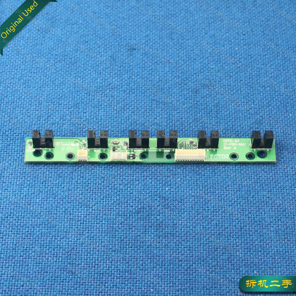 C7790-60482 Q1293-60052 Ink supply station (ISS) board for HP DesignJet 10PS 130 120 30 90 90GP 50 Q1293-60049 C7790-60458 Used<br>