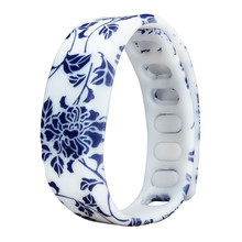 Relogio Feminino Fashion Silicone Floral Women Watch Luxury Brand Bracelet Sport Digital Watch Ladies LED Watches Date Clock(China)