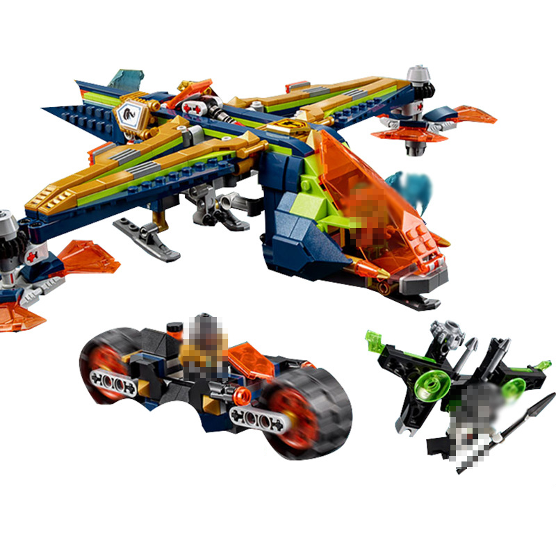 Lepin 14044 683pcs Knight Arons double helix fit fighter Nexus Knights 72005 Diy Funny Building Blocks Bricks kit Toys for Kids<br>