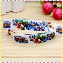 5/8'' Free shipping Fold Elastic FOE cartoon game printed headband headwear diy decoration wholesale OEM P4681(China)