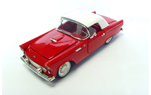 1:32 1955 red Classic vintage car model Alloy collection model