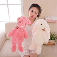 2017 New 30cm Bunny Stuffed Rabbit Cut Plush Soft Toys Promotional Bunny Doll Rabbit Plush Toy With Long Ears Appease Rabbit