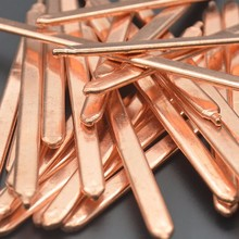 8x3x250mm Flat Copper Heat pipe Heat sink Radiator Cooling,Laptop CPU GPU Video Card DIY Oblate Tube Heatpipe