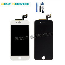 Grade AAA For iPhone 6s 6s plus LCD Screen Display With 3D Touch Screen Digitizer Assembly White&Black +tool