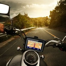 "upgrade Motorcycles Vehicle GPS 4.3"" waterproof Motorcycle bike GPS Navigation Touchscreen NAV Bluetooth FM + Map + mount+holder"