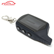 Russia Version A91 Case Keychain For Starline A91 LCD Remote Two Way Car Alarm System Remote/FM Transmitter