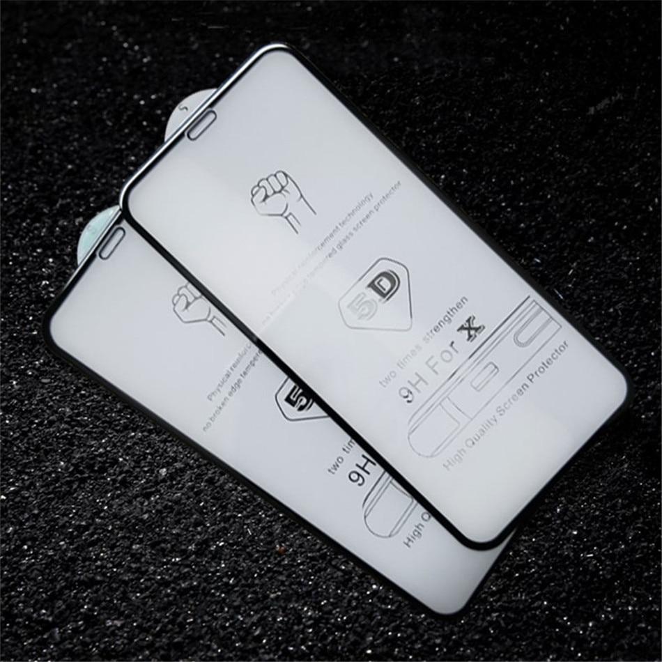 5 iphone X glass
