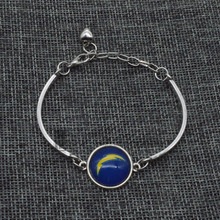 2017 Trendy Football Handcrafted Bracelet San Diego Chargers Charm Bracelet&Bangle Couple Love Bracelet Jewelry Accessories