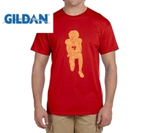 GILDAN Hot Colin Kaepernick Kneeling Anthem Flag Protest t shirts Mens gift T-shirts for 49ers fans(China)