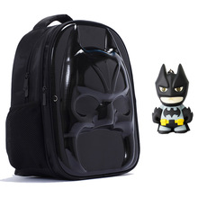3D Batman school Backpack Cool Bookbags Vintage Laptop male Backpacks male Nylon school backpacks for teenagers