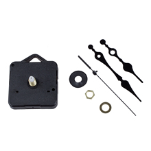 SZS Hot Clock Movement Black Hour Minute Second Hand DIY Tools Kit