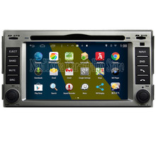 Brand New 800*480 Quad Core 16G 6.2'' Pure Android 4.4.4 Car PC for Hyundai Santa fe Car DVD Multimedia Player