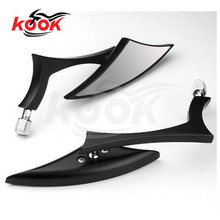triangle dirt pit bike motocross scooter motorbike side mirror for harley style prince cruise motorcycle rearview mirror moto(China)