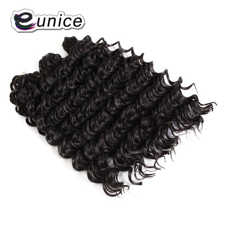 3 Bundleslot Fashion synthetic braiding hair 10inch Freetress Jerry Curl Crochet Braid  (46)