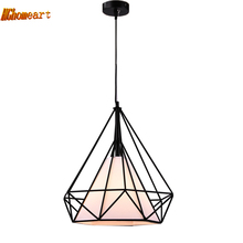 American Loft Style Industrial Retro Pendant Light E27 Iron Living Room Restaurant Bar Counter Loft Bookstore Light