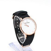 2017 casual 36mm diameter women disc watches nylon band watch Rome fashion ladies watch quartz watch dress simple nylon straps