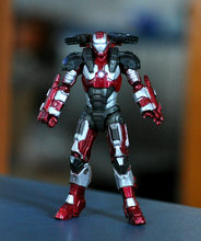 "Marvel SUPER HERO Universe Iron Man 3.75"" Loose Action Figure ZX107(China)"