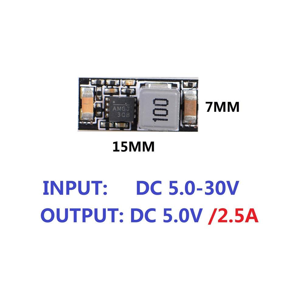 FzJs-J-in FPV DC-DC Converter Step Down Module Mini BEC Durable for RC Plane Quadcopter
