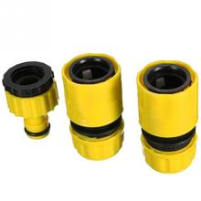 3 pcs/set Universal ABS Quick Connector Car Wash Water Gun Adapter Garden Lawn Tap Hose Fitting