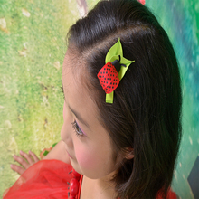 hand customize princess Free Shipping 19pcs Good Girl Bug Hair Accessories Bow Clip Flower basket sunflower bloom floweriness(China)