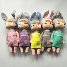 43cm Angela rabbit dolls baby plush toy doll 8 color sweet cute lovely stuffed toys Dolls for kids girls Birthday/Christmas Gift(China)