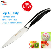 FINDKING Brand new top quality 4.2'' inch Carved knife kitchen paring knife fruit knife