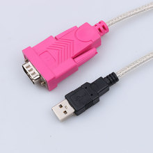 Newest Double Chipset 1.45M USB 2.0 to RS232 Serial Converter Adapter Data Cable DB9 Pin Female For PDA Modem Phone