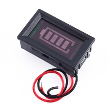 12V Acid Lead Batterie Tester Four Power Display Percentage Power Digital Indicator Board Batterie Capacity Testeur Wholesale(China)
