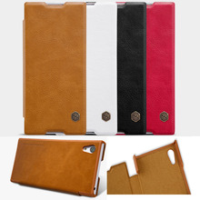 For Sony Ericsson Xperia XA1 5.0inch Cover, Luxury Nillkin Leather Card Flip Folio Cover Bag Case For Sony Xperia XA1 (XA 1)
