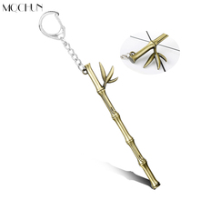 MQCHUN Jewelry Game Hero Union Keychain Quick Scout Timo Bamboo Weapon Pendant Key Chain Ring Car Purse Accessories Chaveiros(China)