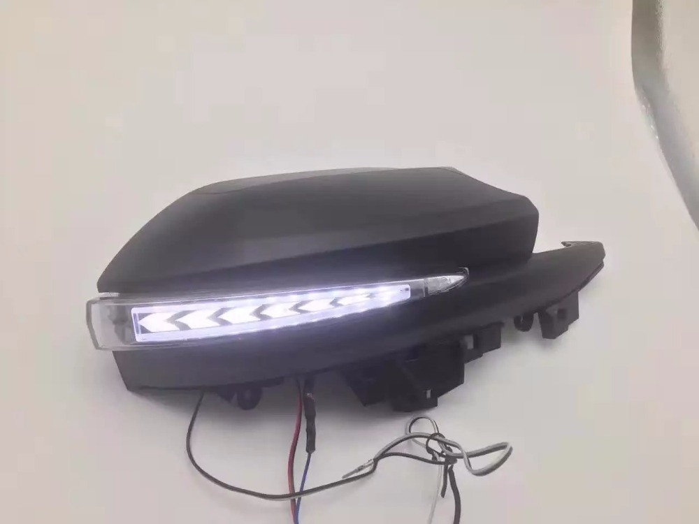 Osmrk led drl daytime running light, rear moving turn signal, ground lamp for toyota highlander Alphard, rear view mirror lamp<br><br>Aliexpress