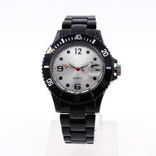 Fashion Ice cream color fashion gift Quartz silicone watch Geneva silicone Wristwatch luminous hands glow in dark(China)