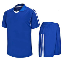 Classical design kids Soccer Jerseys Uniforms Brand Top Quality Football Jerseys Breathable Short maillot football 2017 LD-5008(China)