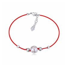 Trendy Gorgeous  crystal Bracelets Crystal from Swarovski woman design adjustable hand jewelry Cheap