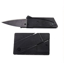 Credit card folding knife Multi-function knife Pocket mini wallet outdoor camping pocket fold a tactical knife