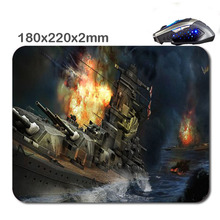 World Of Warships Custom Print  New  Mouse  Pad  Game Mouse  Pad, Wholesale Office Gift,Two Kinds  Of  Model is Optional