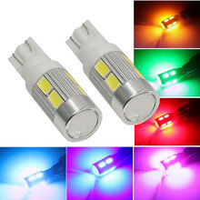 1PCS T10 194 W5W 10 SMD 5730 LED Light High Power Car Auto LED Bulb Clearance Lights Brake Turn Signal Lamp(China)