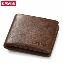 Genuine Leather Wallet Men Coin Purse Small Walet Portomonee Mini Slim PORTFOLIO Rfid Male Cuzdan Perse Pocket Fashion Money Bag(China)