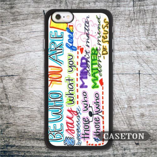 Be Who Your Are font b Case b font For font b iPhone b font font