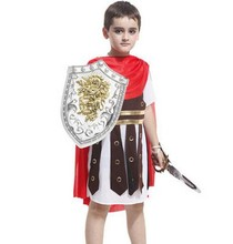 ancient rome costumes for boys dynasty warriors cosplay roman warrior roman soldier costumes halloween costumes for boys cosplay(China)