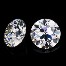 Synthetic diamonds EF white color 7*7mm lab-created old european cut moissanites loose gems stones for jewelry making